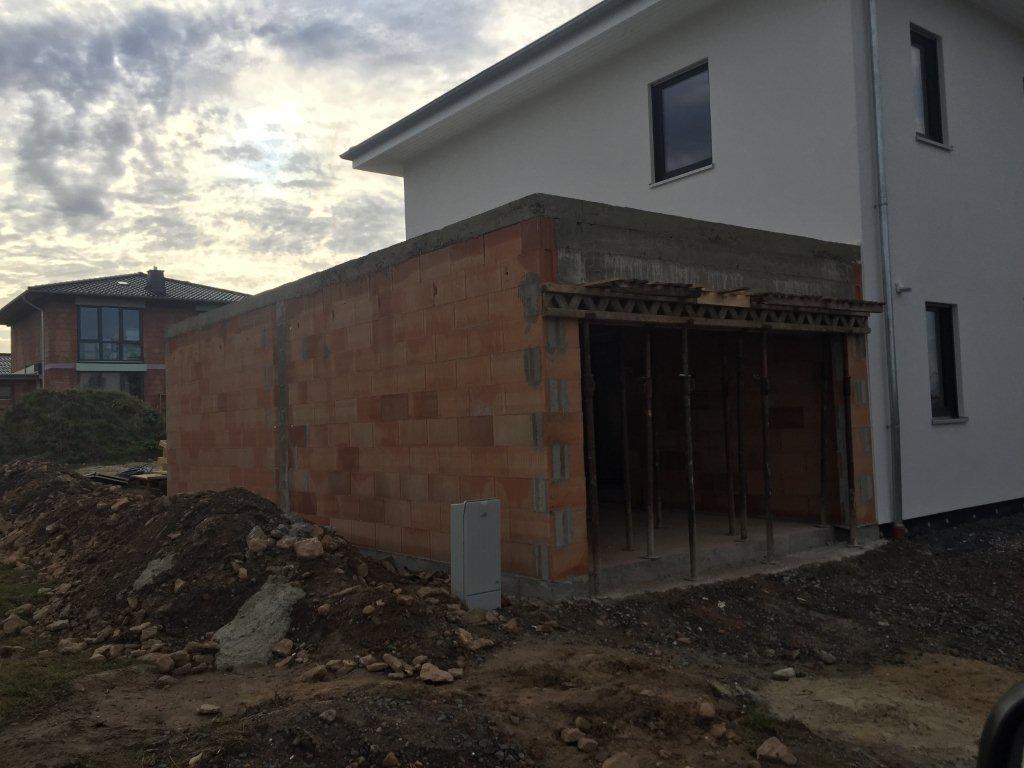 Garagenneubau, Kassel (2)